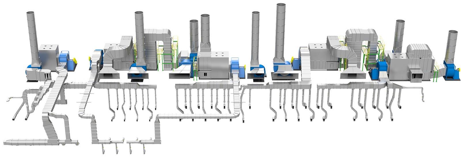 Process Air Systems Main Purposes